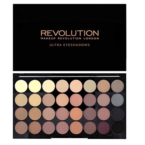 Makeup-Revolution-Palette-Ultra-Fards-A-Paupires-32-Teintes-Mat-parfait-0