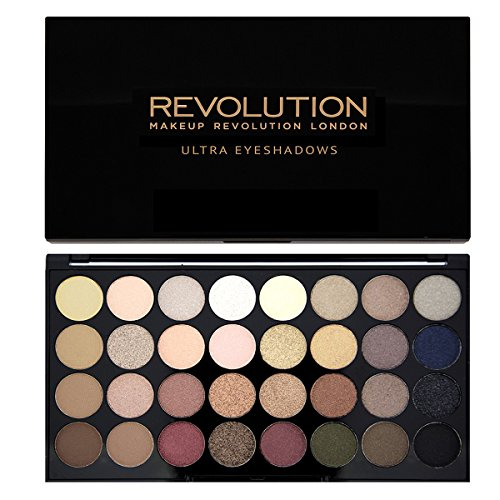Maquillage-Revolution-Palette-32-ombres–paupires-Brillants-et-Mats-Nudes-Flawless-0