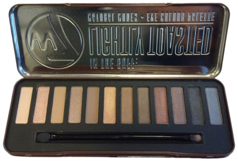 w7-Lightly-Toasted-Palette-Maquillage-de-12-Ombres–Paupires-Pigmentes-et-Lumineuses-156-g-0