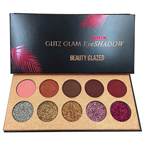 Beauty-Glzaed-Professionnel-10-Couleurs-Palette-de-Fard–Paupire-Waterproof-Durable-Fum-Matte-Shimmer-Glitter-de-Maquillage-Palette-0