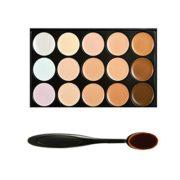 Boolavard-Professional-Correcteur-de-teint-Palette-de-15-couleurs-Anti-cernes-Palette-de-maquillage-pour-le-visage-avec-pinceau-de-maquillage-ovale-15-couleurs-0