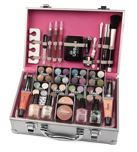 Vanit-Cas-Cosmtique-Beaut-Maquillage-Urban-Beauty-Bo-te-Stockage-Organisateur-60-Piece-0