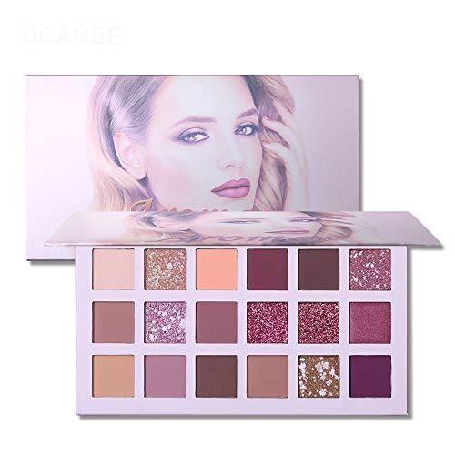 UCANBE-La-nouvelle-palette-de-fards–paupires-Nude-18-couleurs-Matte-Shimmer-Glitter-Multi-Reflective-Shades-Teint-Ultra-Pigment-Maquillage-Ombre–Paupires-A-0