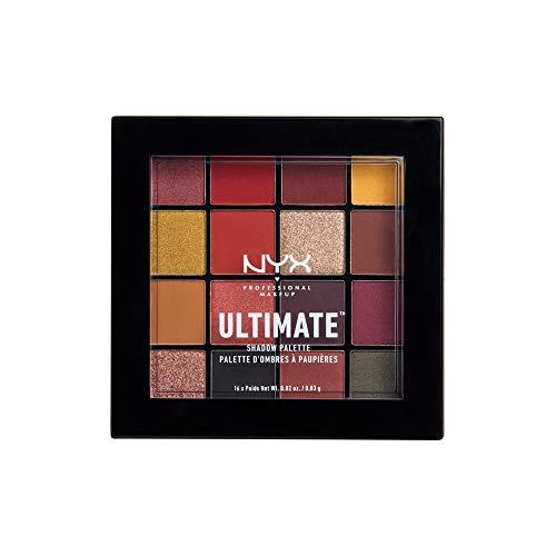 NYX-Professional-Makeup-Palettes-de-Fards–Paupires-Ultimate-Shadow-Palette-16-Couleurs-Pigments-Presss-Fini-Iris-Mtallique-Mat-Phoenix-0