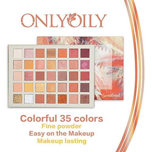 ONLYOILY-35-couleurs-Palette-Ombres–Paupire-Ultra-Shimmer-Matte-Pigmente-Palette-de-Maquillage-Fard–Paupire-Palette-Fard–Paupires-Poudre-Impermable-Longue-Dure-Cadeau-0-0