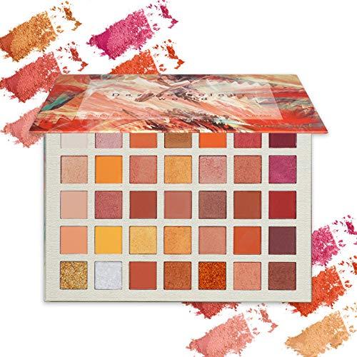 ONLYOILY-35-couleurs-Palette-Ombres–Paupire-Ultra-Shimmer-Matte-Pigmente-Palette-de-Maquillage-Fard–Paupire-Palette-Fard–Paupires-Poudre-Impermable-Longue-Dure-Cadeau-0