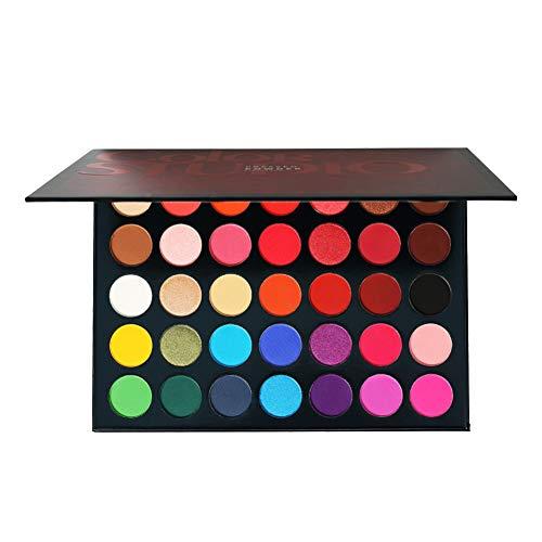 Fard-a-Paupiere-Paillette35-couleurs-Ombre–paupires-matifiante-et-chatoyante-professionnelle-hautement-pigmente-poudre-presse-A-A-0