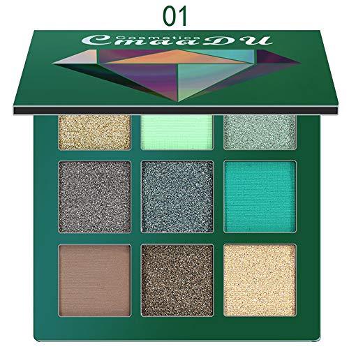MORCHAN-Ombre–paupires-Mat-cosmtique-crme-Palette-de-Maquillage-Shimmer-Set-9-Couleurs-Fard–paupires-0