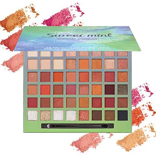 Onlyoily-48-couleurs-Palette-Ombres–Paupire-Ultra-Shimmer-Matte-Pigmente-Palette-de-Maquillage-Fard–Paupire-Palette-Fard–Paupires-Poudre-Impermable-Longue-Dure-Cadeau-0