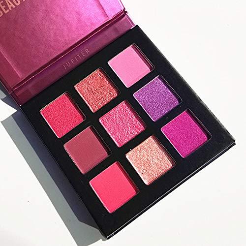 Pressed-Eyeshadow-PaletteROMANTIC-BEAR-Kit-de-mini-fard–paupires-professionnel-de-palette-de-maquillage-mtallis-scintillant-de-9-couleurs-Violet-0