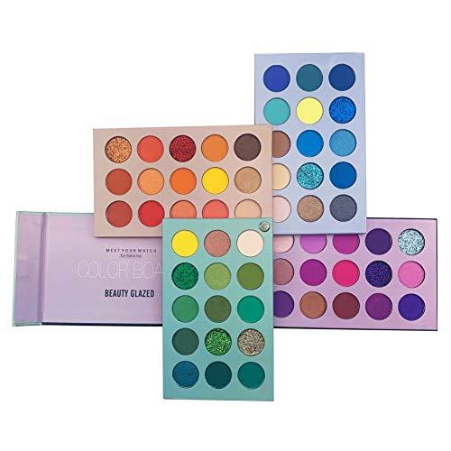 60-couleurs-Palette-de-fards–paupires-Pigmented-Board-Palette-de-fards–paupires-longue-dure-Mattes-et-chatoyantes-Ombre–paupires-mlangable-Professionnel-Maquillage-Palette-0