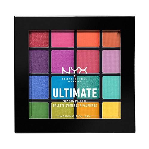 NYX-Professional-Makeup-Palettes-de-Fards–Paupires-Ultimate-Shadow-Palette-16-Couleurs-Pigments-Presss-Fini-Iris-Mtallique-Mat-Brights-0