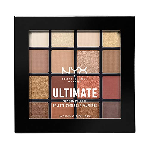 NYX-Professional-Makeup-Palettes-de-Fards–Paupires-Ultimate-Shadow-Palette-16-Couleurs-Pigments-Presss-Fini-Iris-Mtallique-Mat-Warm-Neutrals-0