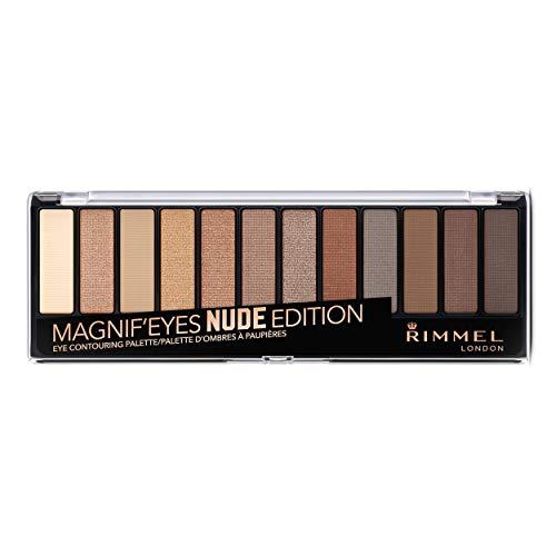 Rimmel-Ombre–Paupires-Palette-MagnifEyes-12-Pan-Fini-Mat-Satin-et-Brillant-Longue-Tenue-001-Nude-Edition-1416gr-0